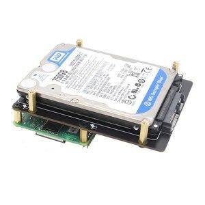 Image 5 - פטל Pi 4 דגם B 2.5 אינץ SATA HDD/SSD אחסון הרחבת לוח, x825 USB3.1 קשיח נייד דיסק מודול לפטל Pi 4B