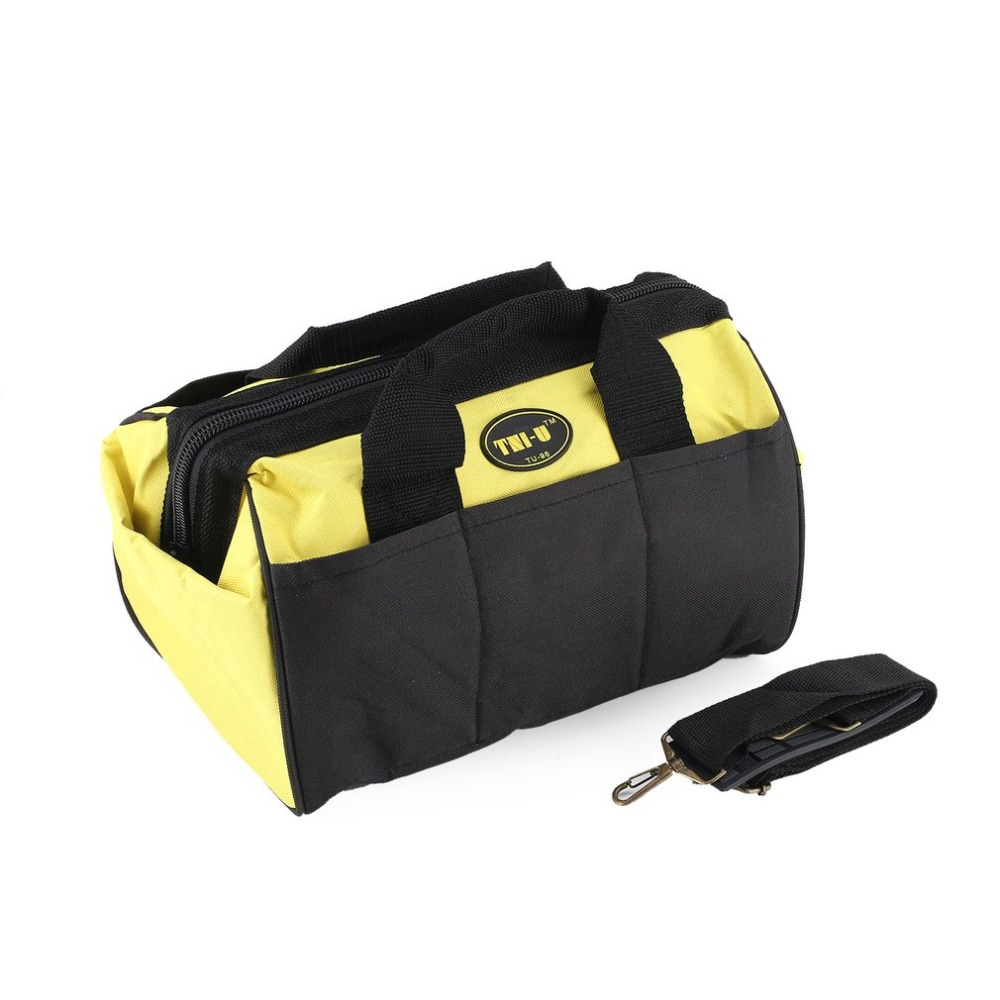 Multi-Functional Package Tool Kit Organizer Bag Belt Hardware Electrical Pockets Construction Packs