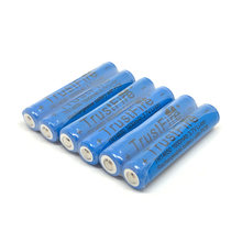 TrustFire Protected TR14650 1600mah 3.7V 14650 Li-ion Rechargeable Battery Camera Flashlight Torch Batteries with PCB(China)