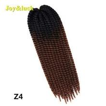 Joy&luck Crochet Braids Hair Extensions 22inch Synthetic Hav