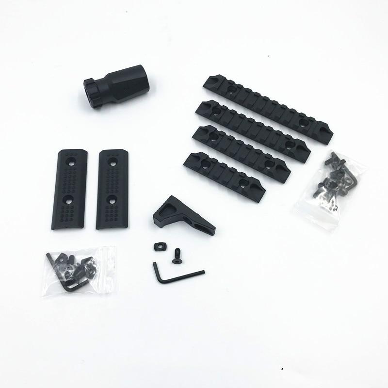 Nylon SLR guardamanos de mano para madera para Gel blaster partes accesorios de modificación Espray de agua a alta presión de 140 Bar tierra Blaster Lance Turbo boquilla para Karcher K1 K2 K3 K4 K5 K6 K7 de alta presión de lavado