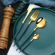 Набор столовых приборов из нержавеющей стали комплект 4 вилка