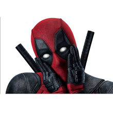 "Full Square Drill 5D DIY Diamond Painting Super Hero ""Dead Pool"" Embroidery Cross Stitch Mosaic Rhinestone Home Decoration(China)"