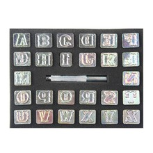 Digital Letter Leather Stamp Tools Set Household Metal Detachable Tool