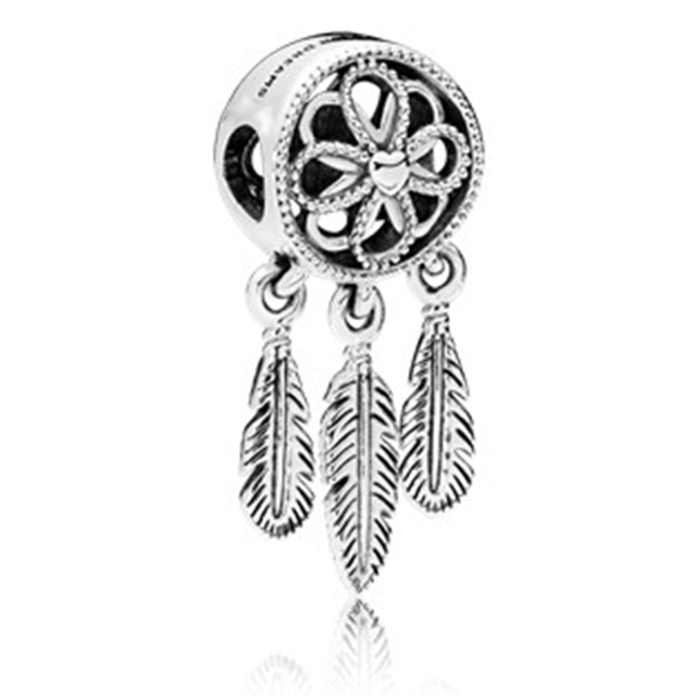 Couqcy Special Mickey Train Love Crown Car Dreamcatcher Charms Beads Fit Pandora Bracelet Necklace Women DIY Jewelry Accessories