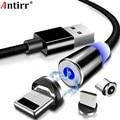 Магнитный USB-кабель, Type C/Type A/micro