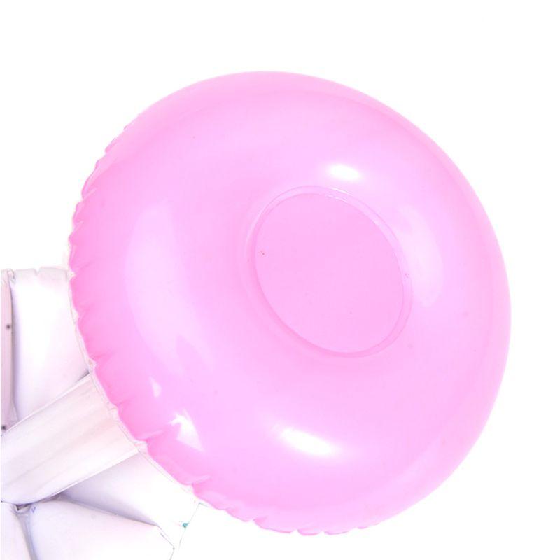 Inflatable Coaster Mushroom Seat Small Umbrella Cup Holder Milk Tea Floating Children Water Beach Toys  AXYA
