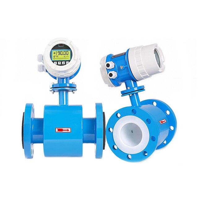 Электромагнитный расходомер, расходомер воды, Диапазон Потока 0 ~ 30 м3/ч, диаметр датчика DN10 ~ DN600, точность 0.5% или 1.0% (опционально)
