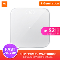 Original Xiaomi Mi Smart Weight Scale 2 Health Weight Scale 2 Bluetooth 5 Digital Scale Support Android 4.3 iOS 9 Mifit APP