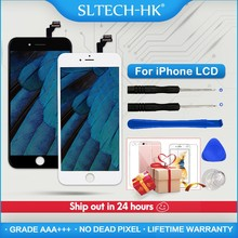 Grade Aaa + + + per Il Iphone 6 6S 7 8 Più Lcd con 3D Forza Dello Schermo di Tocco Digitizer Assembly per iphone 5 5S X Display No Dead Pixel(China)