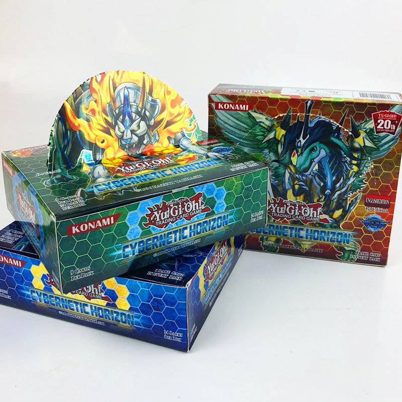 YU GI OH 216pcs Set With Box Yu Gi Oh Anime Game Collection Cards Kids Boys Toys For Children