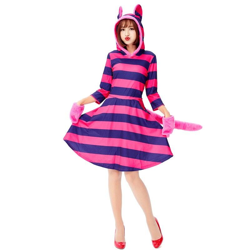 Ladies Long Wavy Blonde Blue Black Wonderland Book Alice Fancy Dress Costume Wig