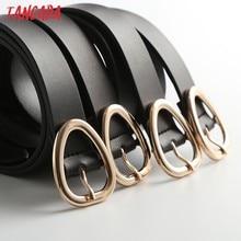 Tangada – ceinture en cuir véritable pour femmes, Style anglais, avec boucle en métal, à la mode, pour le bureau, 6D30, 2021