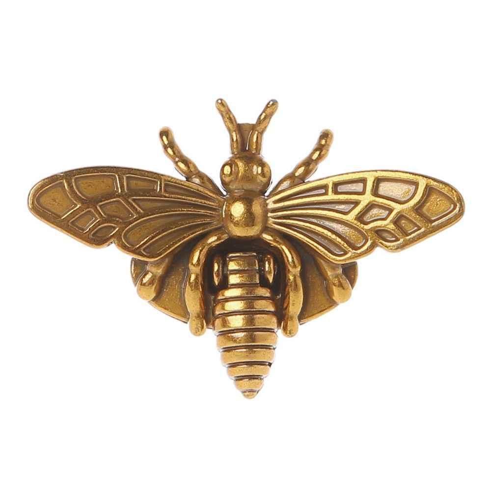 2020 nouvelle mode chaude nouvelle abeille forme fermoir tourner serrure métal matériel pour bricolage sac à main sac à bandoulière sac à main chaude 2 couleurs