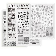 Placa de carimbo do prego do xl com as imagens da xadrez do apoio que carimba o carimbo dos personagens dos desenhos animados da placa 14.5x9. 5 do prego