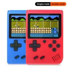 Новая встроенная 400 игр 1000 мАч батарея Ретро видео портативная игровая консоль+ геймпад 2 игрока двойной 3,0 дюймовый ЖК-игровой плеер
