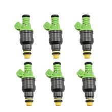 6 шт./лот Высокая производительность 440cc Универсальный топливный инжектор ev1 0280150558 для audi bmw vw тюнинг гонок