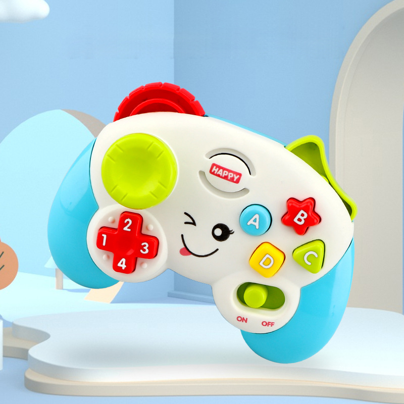 Baby Toys Sound Light Multifunctional Electric Game Handle Children's Educational Gifts Music Toys Vocal Toys Without Battery