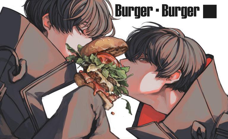 【P站美图】垃圾食品之王!汉堡包特辑