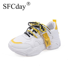 NEW 2019 Women Vulcanized Shoes Flat Pla