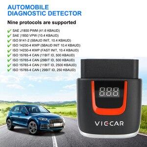 Image 3 - Viecar VP004 VP002 ELM327 V 2,2 Auto Diagnose Auto Werkzeug WIFI ULME 327 OBD2 Elm327 OBD USB Scanner Code Reader für Android/IOS