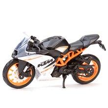 Maisto 1:18 KTM RC 390 690 640 Duke 450 520 525 Diecast Alloy Motorcycle Model Toy цена 2017