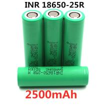 100% Original For Samsung 3.6V  18650 2500mah battery INR18650 25R 20A discharge lithium batteries screwdriver flashlight
