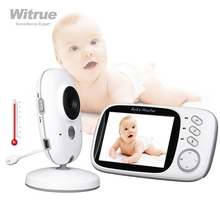 Monitor de vídeo para bebés VB603, 2,4G, inalámbrico, 3,2 pulgadas, LCD, Audio bidireccional, conversación, visión nocturna, vídeo, niñera, baba eletronica, babyfoon