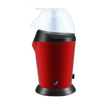 EU/US Electric Corn Popcorn Maker Household Automatic Mini Hot Air Making Machine DIY Popper Children Gift 220V