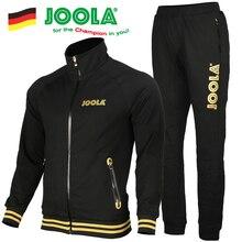 Оригинальная одежда для настольного тенниса Joola для мужчин и женщин, одежда с длинными рукавами для пинг-понга, комплекты из Джерси, спортивные майки