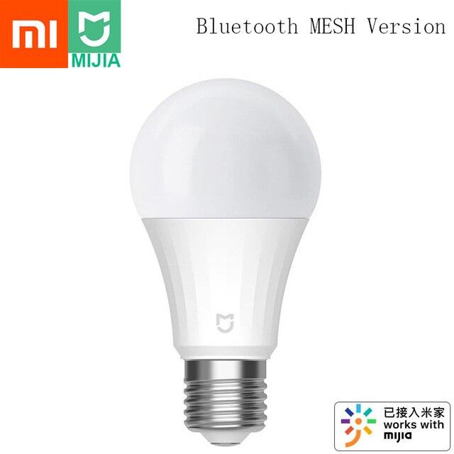 Xiaomi Mijia Led Slimme Lamp 5W Bluetooth Mesh Versie Gecontroleerd Door Voice 2700 6500K Aangepast Kleur Temperatuur smart Led Lamp
