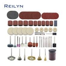Набор шлифовальных инструментов комплект из 99 абразивных насадок