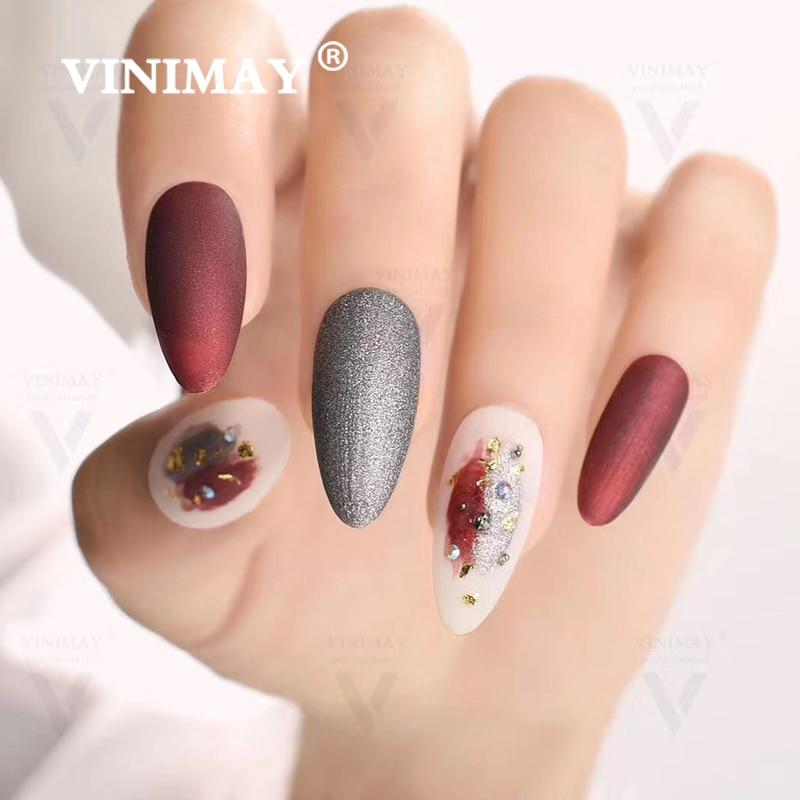 VINIMAY 18 Couleur Ensemble de Manucure pour L'art des Ongles Nail Art Design 15 Ml Imbibent Émail Vernis UV Gel Vernis À Ongles Vernis - 4