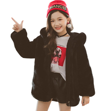 Coat Winter Clothes Outerwear Girl Autumn Cartoon for Thick Warm Kids 8 12-14 6 10