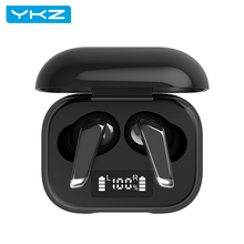 Stereo Headphone Earbuds Bluetooth Wireless Mic-Sport Deep-Bass Waterproof YKZ