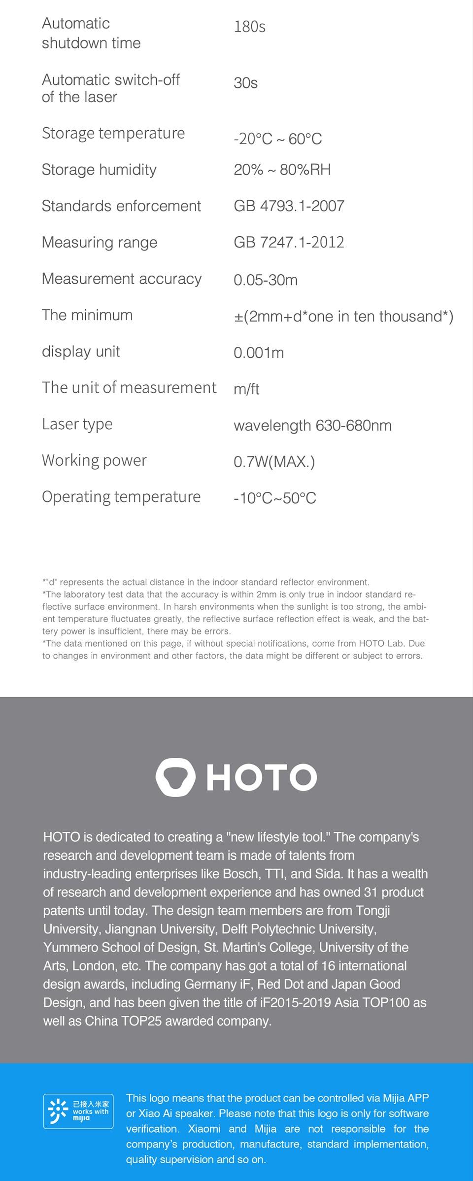 Hea0b21a47c2142be82e919a7a634c706f - ตลับเมตรเลเซอร์ วัดระยะทาง Rangefinder 30M หน้าจอแสดงผล OLED วัดระยะห่างด้วยแสงเลเซอร์ เชื่อมต่อโทรศัพท์มือถือ