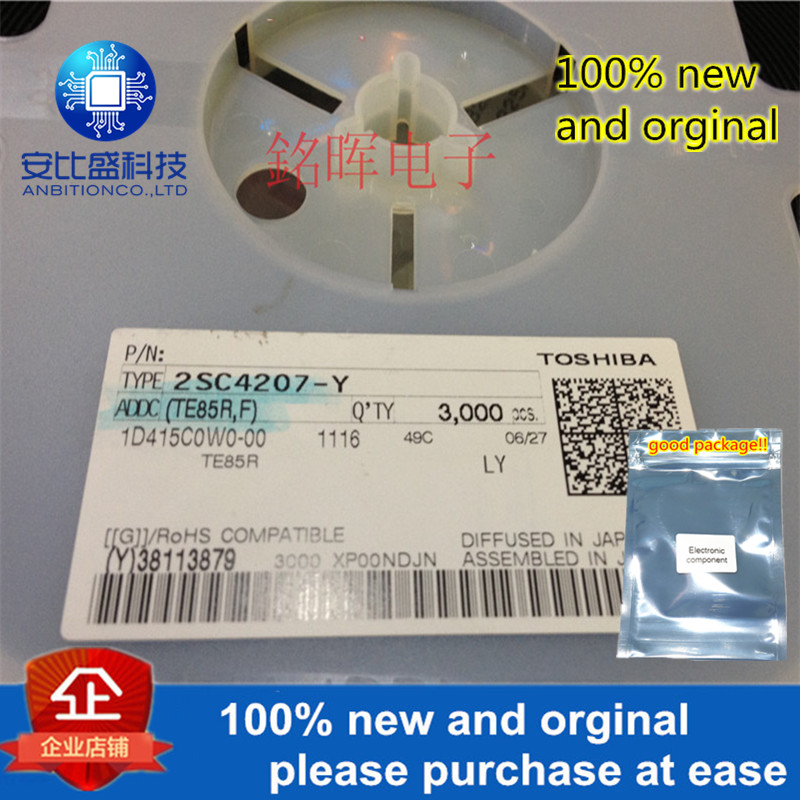 10pcs 100% New And Orgianl 2SC4207 -Y Silk-screen LY SOT153 In Stock