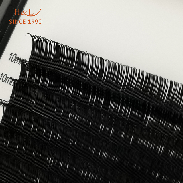 H&L SINCE 1990 16Rows Faux mink individual eyelash extensions for professionals soft mink matte lash 3