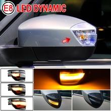 2 adet yan kanat dikiz aynası dinamik flaşör akan göstergesi LED sinyal lambası Ford s max 2007 2014 tüm