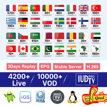 IPTV Sweden Spain Italy Greece Germany IUDTV Pro M3U France Arabic Netherlands Belgium Portugal Turkey