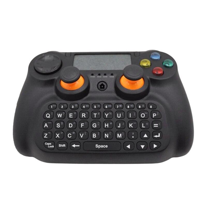 غمبد لوحة المفاتيح 3 في 1 2.4GHz متعددة الوظائف تحكم لاسلكي لوحة المفاتيح Presspad ل PC/ريسيفر لتليفزيونات أندرويد الذكيّة