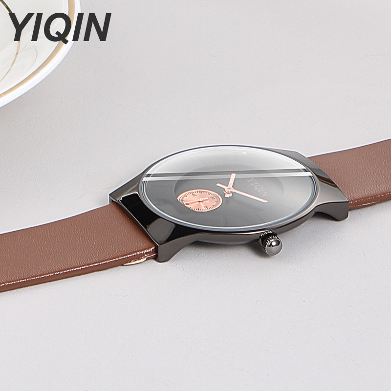 Top Brand Women Watches Quartz Wristwatches Casual Ladies Watch Waterproof Leather Watch Strap Stainless Steel Case Female Clock