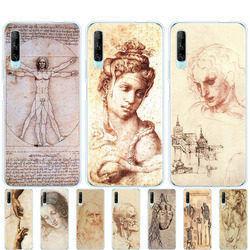 На Алиэкспресс купить чехол для смартфона silicon phone cover case for huawei p40 lite e p40 pro cover for huawei y7p y5p y6s y9s nova 5t italy leonardo da vinci art
