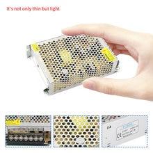 Alimentation de commutation ca à cc 110V/ 220V à 5V 12V 24V 48 V, alimentation de vidéosurveillance/bande LED, adaptateur d'alimentation 5 12 24 48 V
