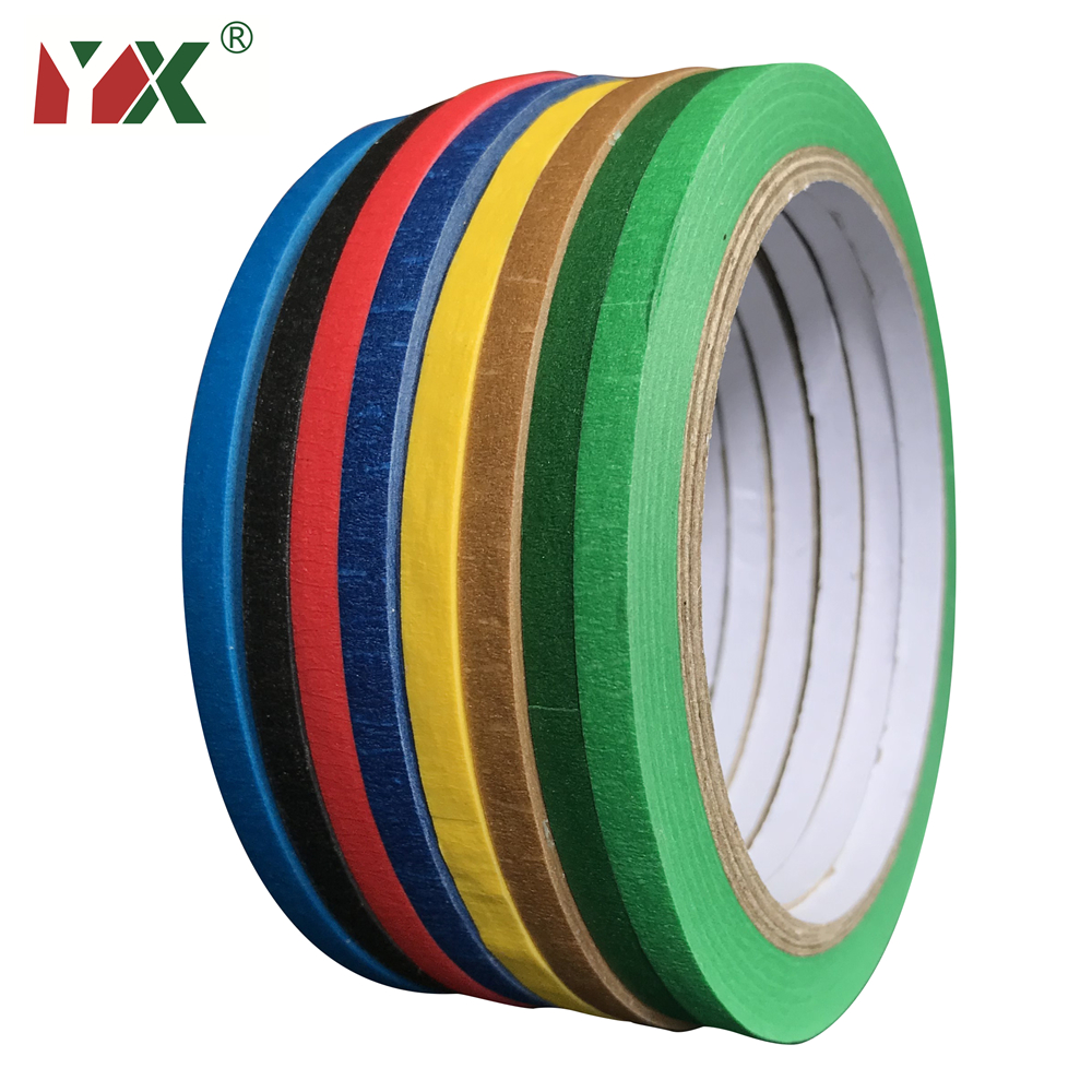 Masking Tape 20M Art Essay Art Color Separation Hand Tears No Residue Tape Decoration Spray Paint Decorative Adhesive Tape 3Roll image
