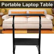 Home Office Standing Desk-Table Furniture Sofa Computer Rolling Bedside