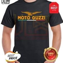 moto guzzi eagle logo t shirt Men's women's Summer 100% Cotton Team Tees Male Newest Top Popular Normal Tee Shirts