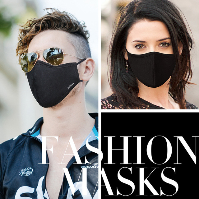 1Pcs Korean Style Mask On The Mouth Anti Dust Mouth Mask Activated Carbon Filter Mouth-muffle Mask Anti PM2.5 Fabric Face Mask 5