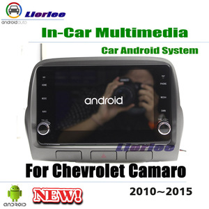 Car Multimedia Player For Chevrolet Camaro 2010 2011 2012 2013 2014 2015 Android Stereo Radio Media GPS Navigation System(China)