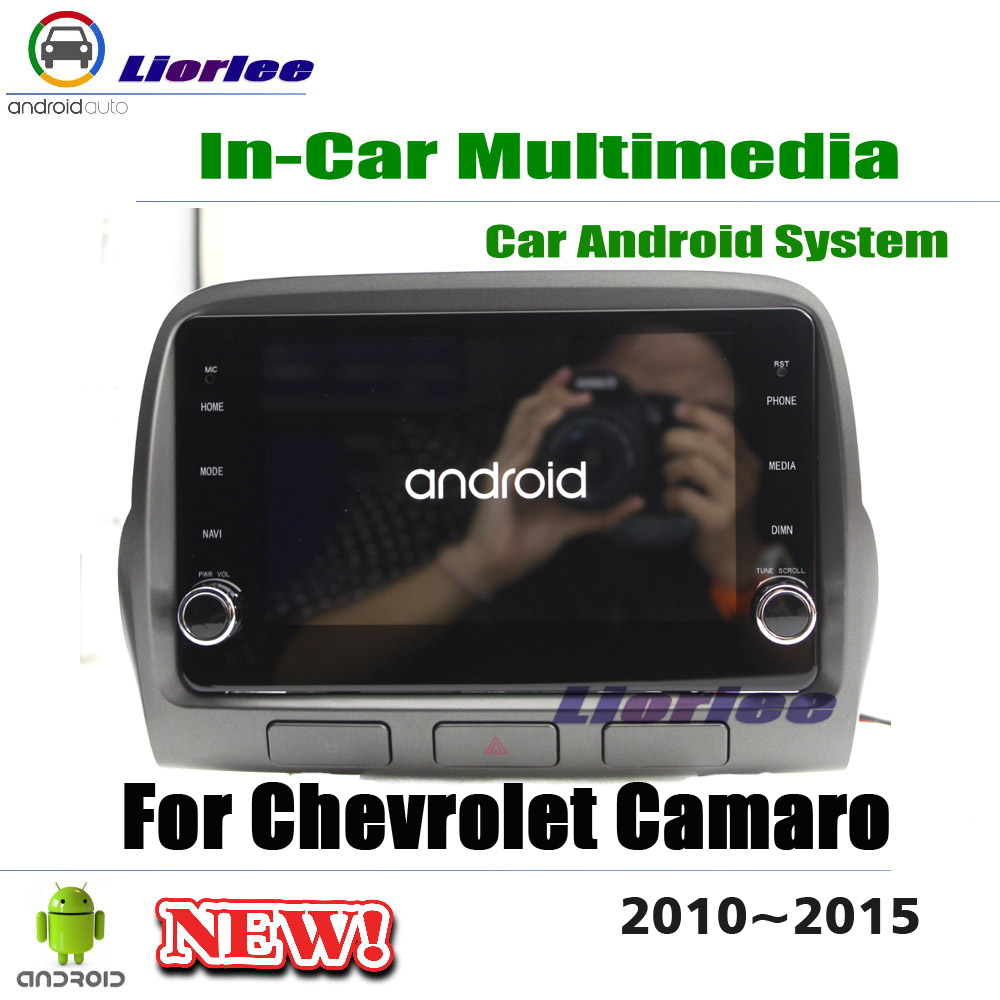Car Multimedia Player For Chevrolet Camaro 2010 2011 2012 2013 2014 2015 Android Stereo Radio Media GPS Navigation System